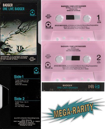 MIND TO SOUND MUSIC: classic rock rarities cassette tapes